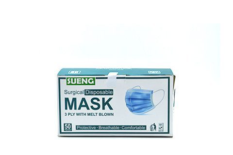 Disposable 3ply Surgical  Masks 50s