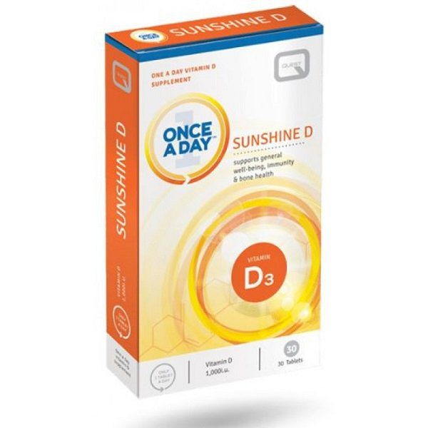 Quest Once A Day Sunshine D Tablets 30s