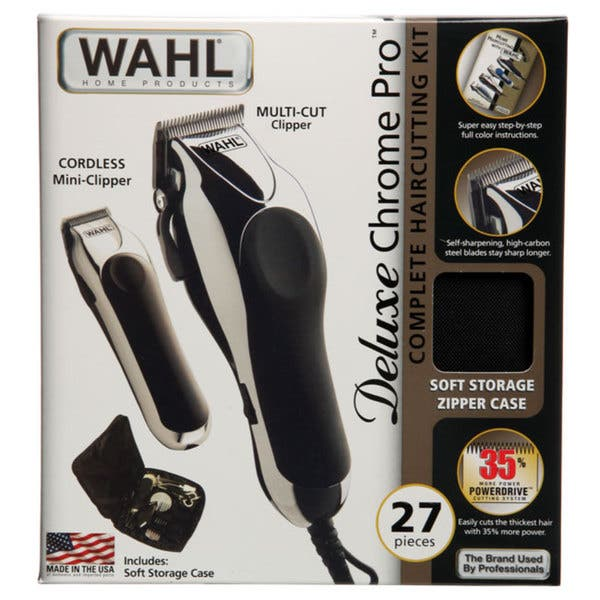 Wahl-Chrome Pro Deluxe Hair Clipper-027