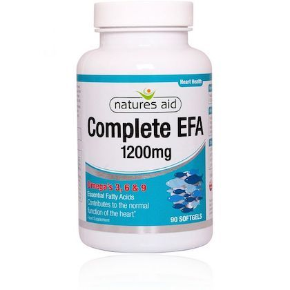 Natures Aid Complete Essential Fatty Acid  Omega 3 6 9 Soft Gel 90s
