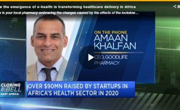 Transforming Health Care Delivery in Africa – Amaan Khalfan, CEO Goodlife Africa                       Courtesy of CNBC Africa