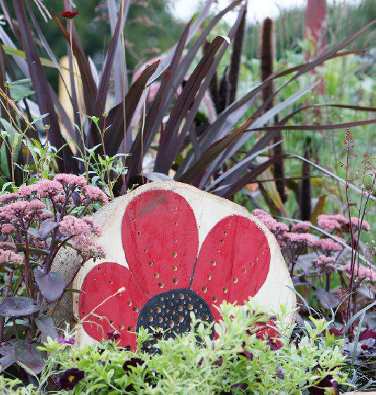 beautiful border detail at BBC Gardeners' World Live Special Edition